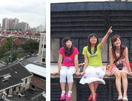 ▲ 參觀「上海19參III老廠場」,瞭解古蹟再生的案例,現場還可遠眺蘇州河。