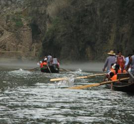同舟,在煙雨的神農溪