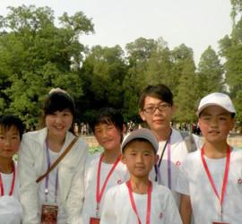 記2011台胞青年與榆中小朋友的忘年之誼