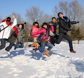 2012遼寧團雪地