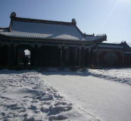 2012遼寧雪景建築