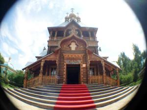 伏爾加莊園內聖尼古拉教堂
